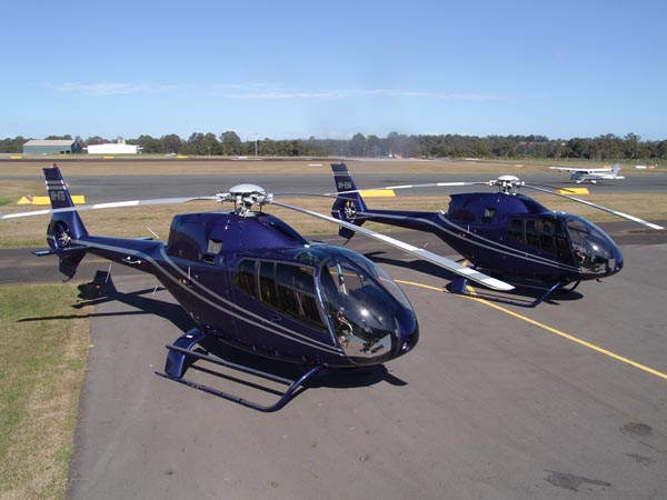 Executive Helicopters EC120B at Archerfield Airport