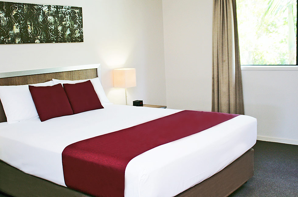 Executive Twin Rooms at Johnson Road Motel in Hillcrest provide 4 star accommodation